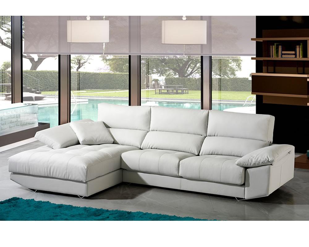 Sofa cheslong divani star mod zeus for Medidas sofa cheslong