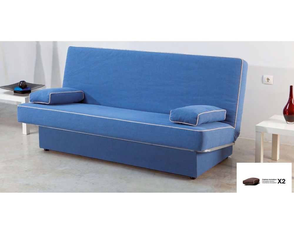 Sofa cama libro mod jaen electromuebles hermanos molina - Sofas cama libro ...