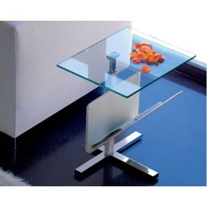 Mesa auxiliar cristal Becker