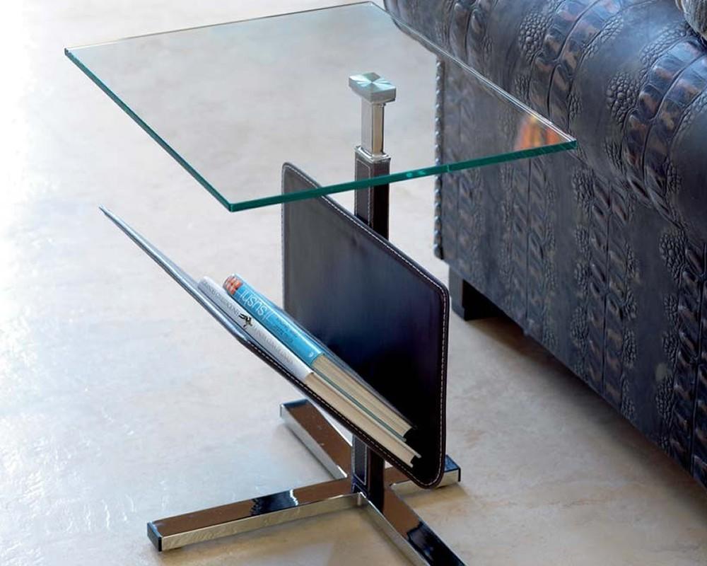 Mesa auxiliar cristal becker electromuebles hermanos molina - Mesas auxiliares cristal ...