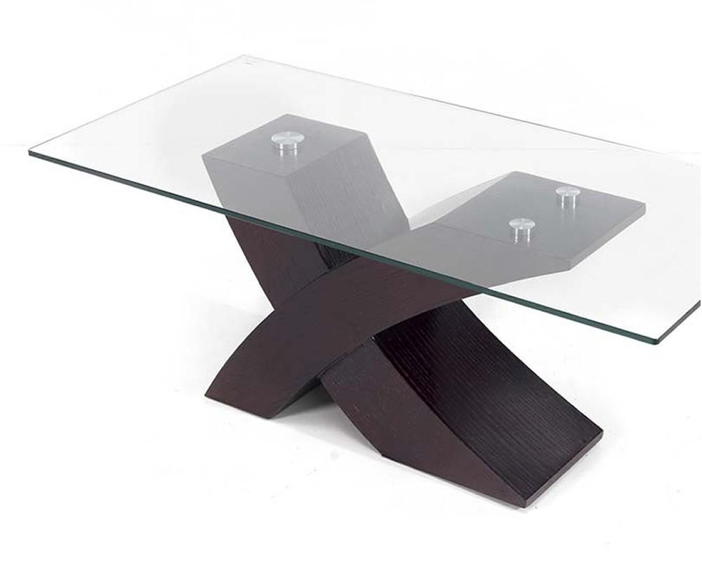 Mesa centro cristal neo electromuebles hermanos molina - Mesas de salon de cristal ...