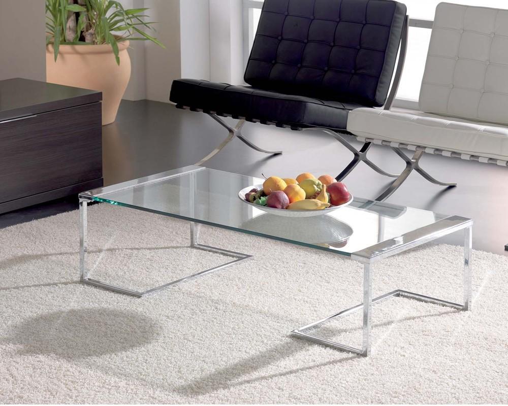 mesa centro cristal amanda electromuebles hermanos molina