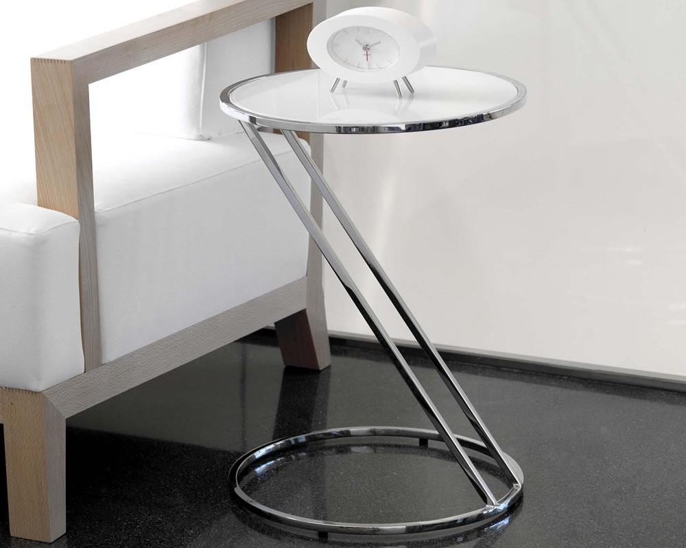 mesa auxiliar cristal tiara electromuebles hermanos molina