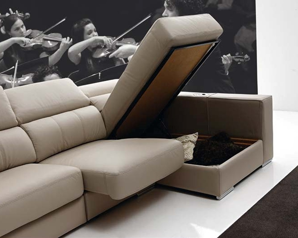 Sof chaiselongue intelegente milano electromuebles for Cheslong clasicos