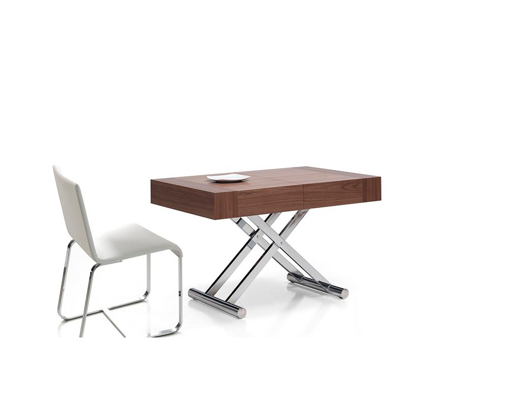Mesa centro comedor elevable extensible con motor - Mesas centro extensibles ...