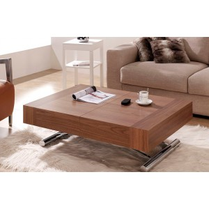 Mesa centro comedor elevable extensible con motor el ctrico electromuebles hermanos molina - Conforama mesa centro elevable ...