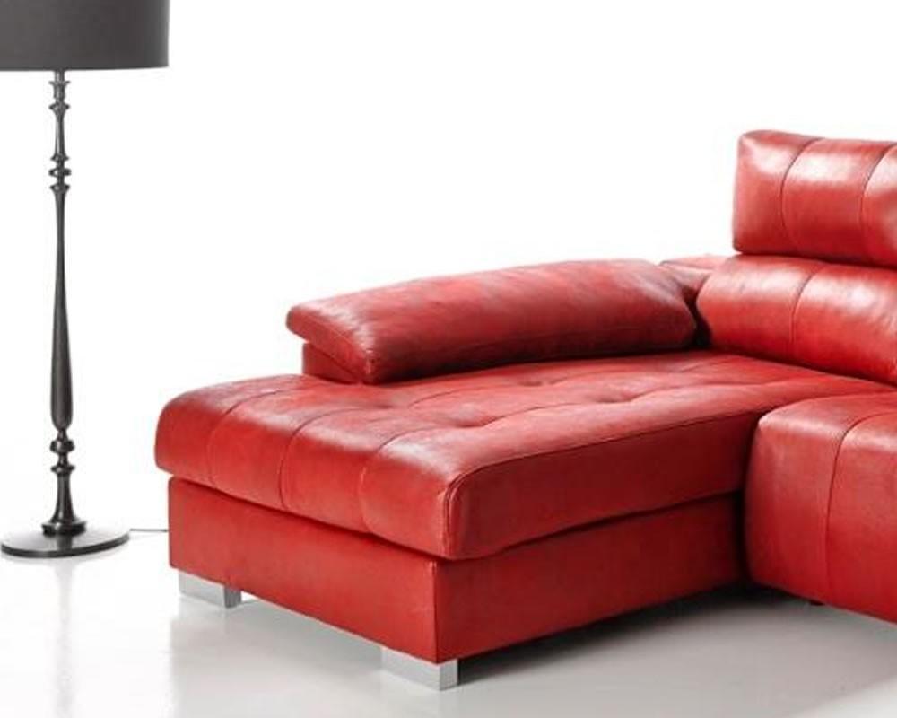 Sof chaiselongue quality mod razer electromuebles for Medidas sofa cheslong
