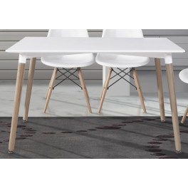 Mesa cocina comedor fija madera electromuebles hermanos - Mesas cocina madera ...