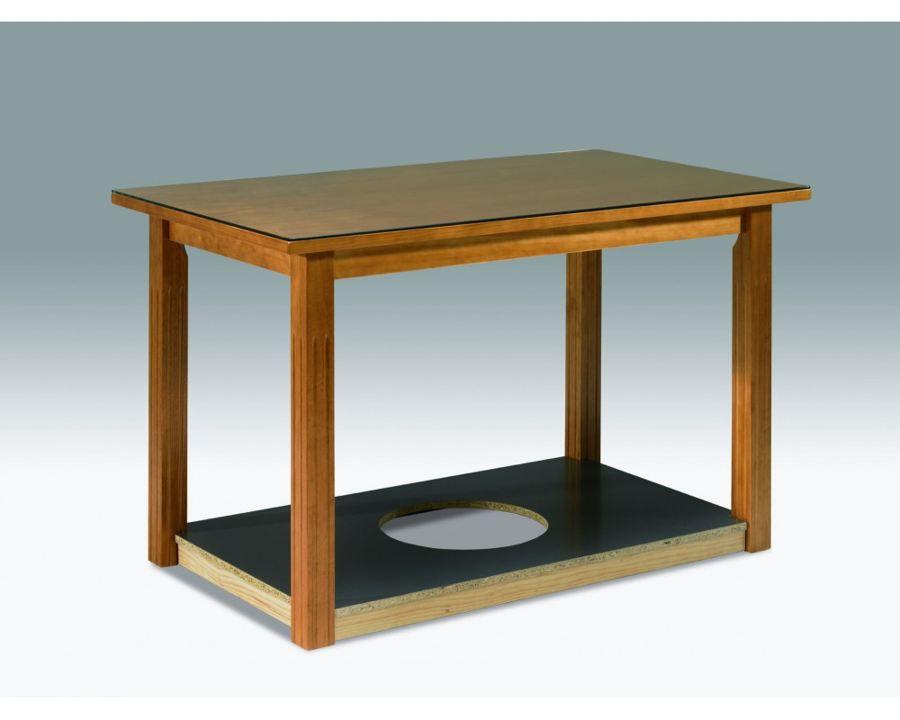 Como modernizar una mesa camilla com anuncios de faldas - Mesa camilla moderna ...
