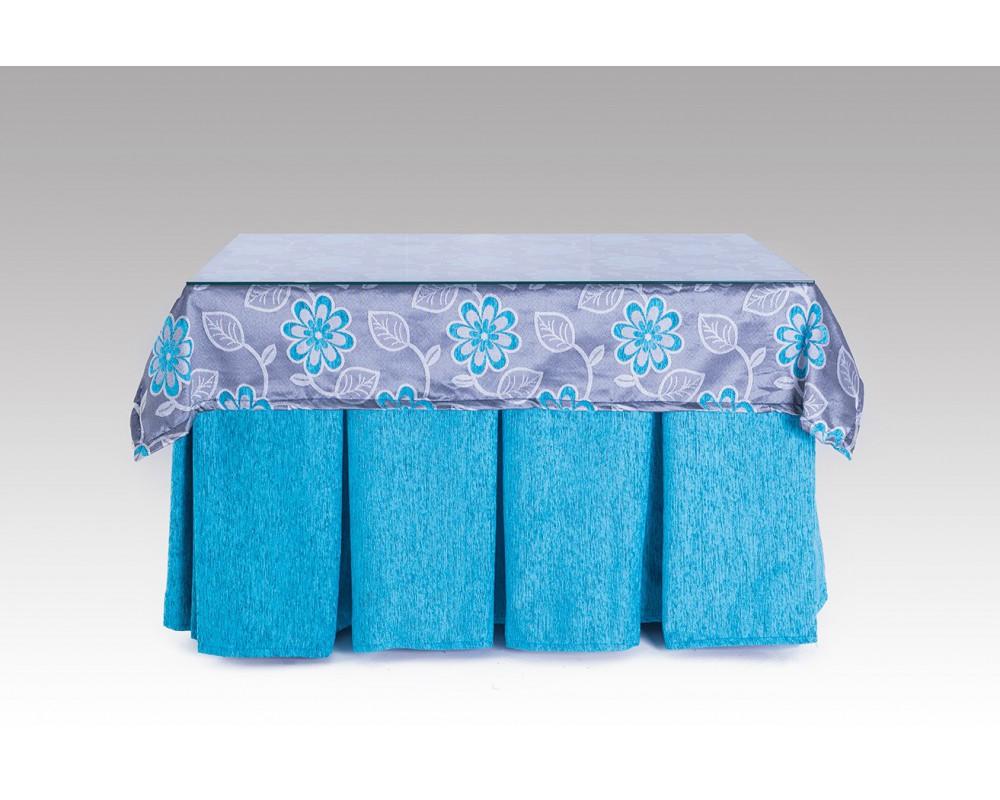 Mesa camilla con falda completa - Mesa camilla moderna ...