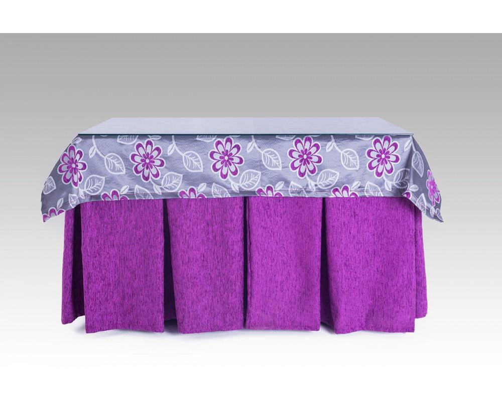 Mesa camilla con falda completa for Falda mesa camilla carrefour