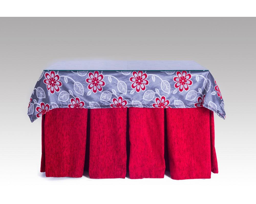 Cristal para mesa camilla cheap falda para mesa camilla - Mesa camilla rectangular leroy merlin ...
