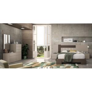Composición Dormitorio Moderno Olympo19