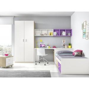 Composición Dormitorio Juvenil L101