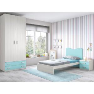 Composición Dormitorio Juvenil L302