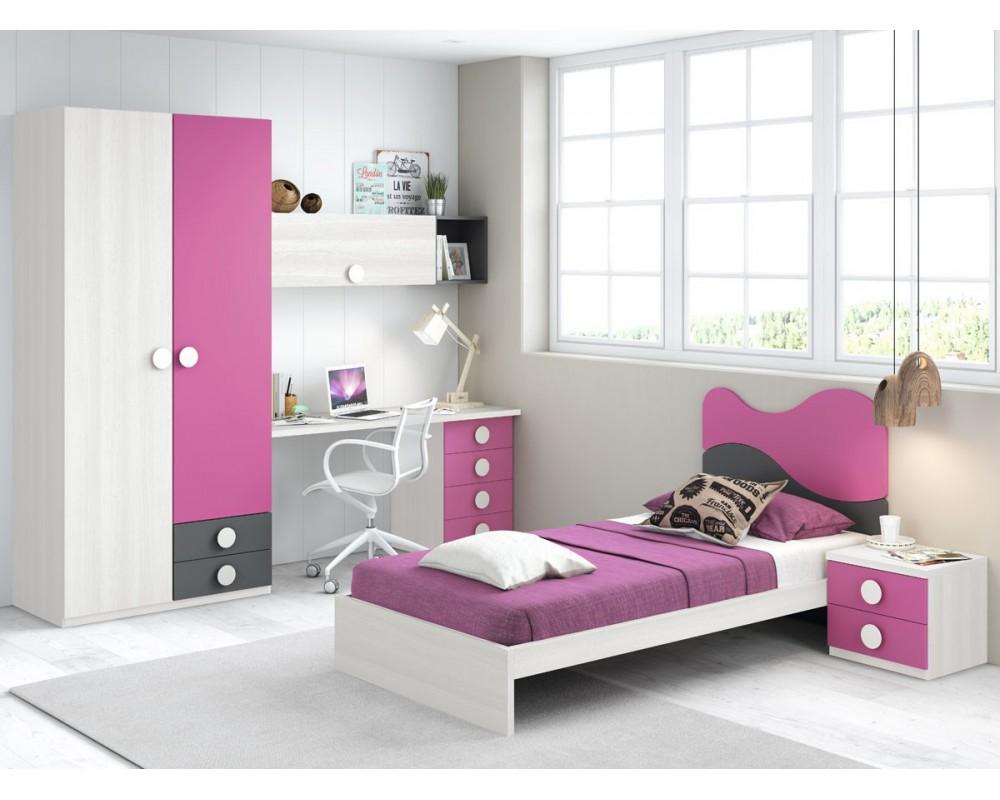 Composicion juvenil for Composicion dormitorio juvenil