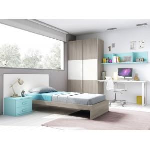 Composición Dormitorio Juvenil L304