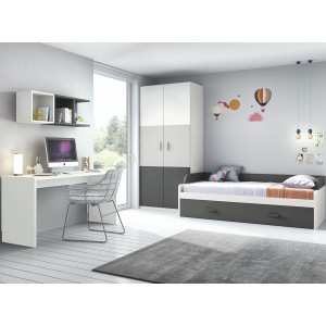 Composición Dormitorio Juvenil L100