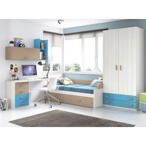 Composición Dormitorio Juvenil L105