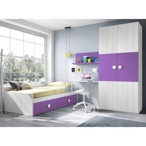 Composición Dormitorio Juvenil L111