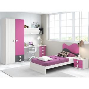Composición Dormitorio Juvenil L303