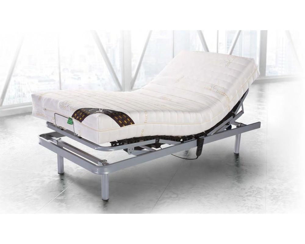 conjunto cama articulada mas colchon